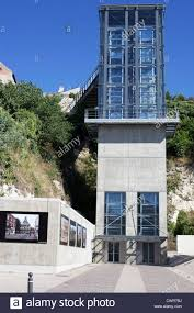 image of the new glass lift elevator to transport tourists and