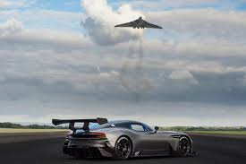 custom aston martin vulcan the motoring world vulcan v bomber meets aston martin vulcan
