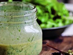 simple green salad with buttermilk herb dressing from u0027the
