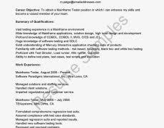 Qtp Resume Sample Resume Formats 6 Welcome To Kiki S Blog Format Examples