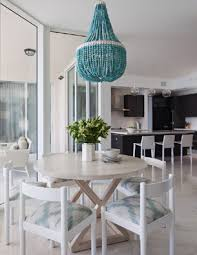 turquoise beaded chandelier turquoise beaded chandelier contemporary dining room