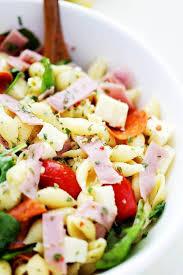 Pasta Salad Recipes With Italian Dressing Italian Pasta Salad Recipe Diethood