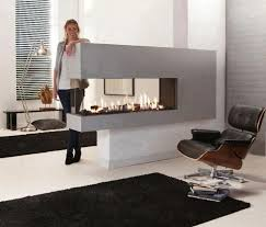 Modern Outdoor Gas Fireplace by Best 25 Two Sided Fireplace Ideas On Pinterest Double Sided