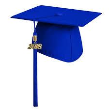 blue graduation cap matte royal blue graduation cap with tassel high school