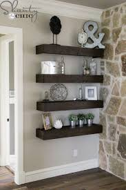 Wall Shelf Bathroom Diy Floating Shelves For My Living Room Shanty 2 Chic