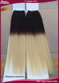 Pre Bonded Human Hair Extensions Uk by Ombre Brazilian Hair Two Tone Human Hair Tape In Hair Extensions