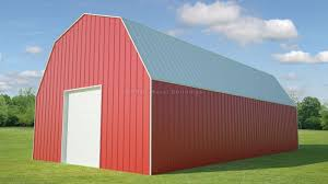 Gambrel Roof Barns For Sale From Mbmi