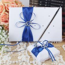 wedding guest book and pen set ourwarm wedding guest book pen set flower basket