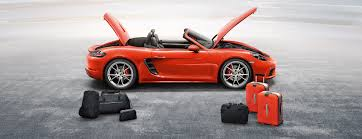 porsche 718 cayman luggage compartments and storage solutions
