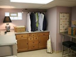 Laundry Cabinet With Hanging Rod Laundry Room Appealing Laundry Room Ideas Design Ideas Laundry