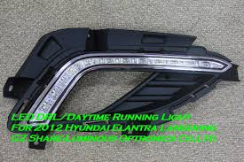 hyundai elantra daytime running lights high quality led drl daytime running light fog light l for