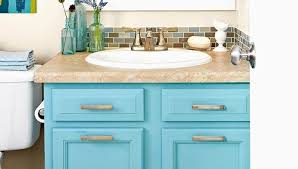 how to refinish bathroom cabinets repainting bathroom cabinets best of painted bathroom vanity spray