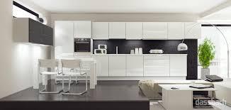 weisse hochglanz küche grifflose küchen dassbach küchen