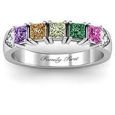 family ring 2 to 5 hugs and kisses xoxo ring october ring and