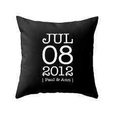 personalized pillow personalized custom anniversary pillow personalized pillow