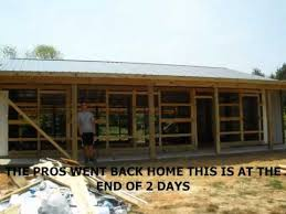 what is an a frame house daniel s post frame house