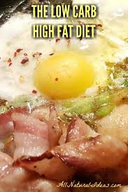 low carb high fat diet meal plan all natural ideas