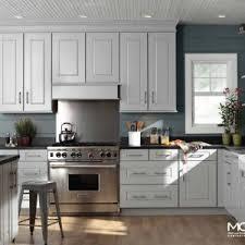 White Kitchen Black Countertop - kitchen u0026 bar beautiful kitchen design by mid continent cabinetry