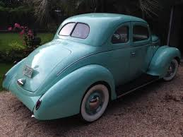 Ford Interior Paint 1938 Ford Coupe Redone Flathead V8 Cloth Interior Manual Shift
