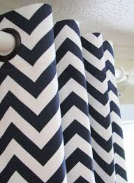 Gray And White Chevron Curtains Navy Chevron Curtains Interior Design