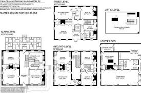 washington floor plan washington d c s oldest house is on the market for 10 5m