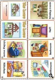 rooms in the house in the house mini book