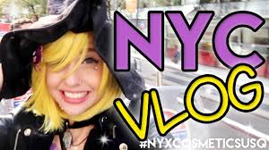city fox halloween nyx cosmetics usq u0026 nyc halloween vlog travel vlog 6 new york
