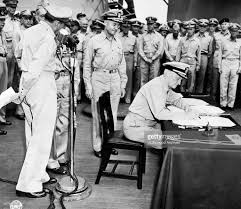 Japanese Generals by Japanese Surrender Ceremony Pictures Getty Images