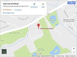Carroll Community College Map Facilities