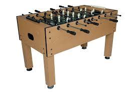amazon com halex galaxy 54 inch foosball table game butcher amazon com halex galaxy 54 inch foosball table game butcher block finish sports outdoors