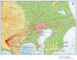 Ring Of Fire Map Volcanoes Of Japan