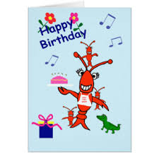 cajun birthday greeting cards zazzle