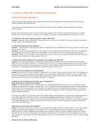 resume questions and answers contegri com
