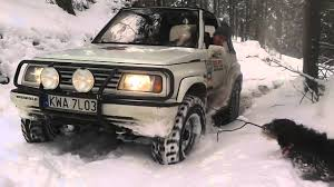 suzuki jeep 2000 suzuki vitara off road youtube