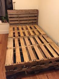 Bed Frame With Storage Diy Bed Frames How To Make A Pallet Bed With Drawers Pallet Bed With