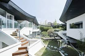 Modern Traditional House Stunning South Korean Courtyard Home Balances Tradition With