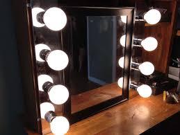 vanity makeup mirror with light bulbs vanity makeup mirror with light bulbs pictures including stunning
