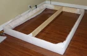 Make Bed Frame Make Your Own Upholstered Bed In One Weekend