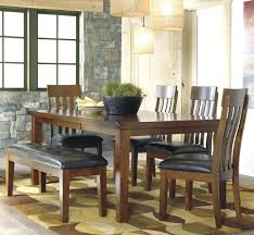 shaker espresso 6 piece dining table set with bench 6 piece dining set with bench cramco shiraz counter height shaker