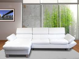 canapé simili blanc tous les canapés simili cuir en promotion
