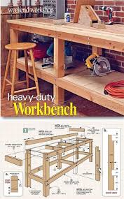 Tool Bench For Garage Bench Work Bench Design How To Build This Diy Workbench Garage