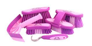 purple bentley bentley equestrian grooming kits