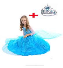 Elsa Halloween Costume Girls Aliexpress Buy Fashion Deguisement Fille Dress Party