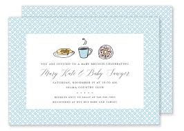 baby shower brunch invitations baby shower brunch invitation gilm press