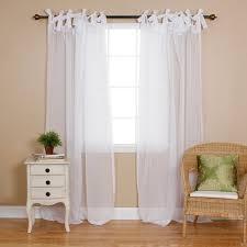 White Tie Curtains Bedding Sets Curtain Ties Bedding Sets And