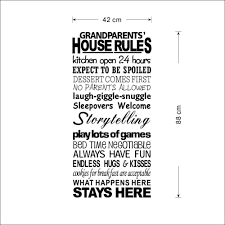 english proverbs house rules large letter words pvc removable room english proverbs house rules large letter words pvc removable room zy8240 vinyl decal art diy wall sticker home decor in wall stickers from home garden on