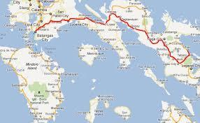 san jose mindoro map bridge that will link mindoro batangas on government s