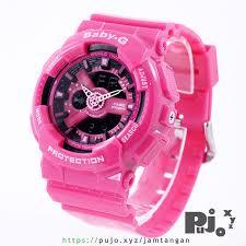 Jam Tangan Baby G Warna Merah jual baby g ba 110 magenta jam tangan pujo xyz