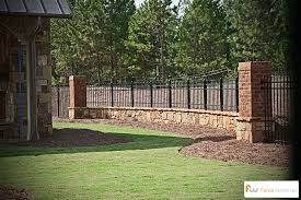 Front Yard Metal Fences - metal fence designs pictures wood and wrought iron combination