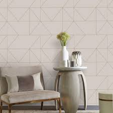 graham and brown taupe khaki kellys geo removable wallpaper